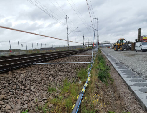 Divisible cable protection ducts for railway project Flackarp – Arlöv, Sweden