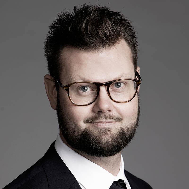 Portrait of Fredrik