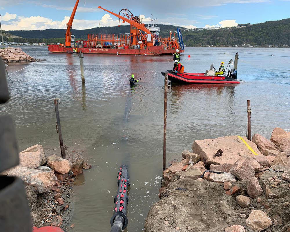 Drammenfjorden installation Panzar