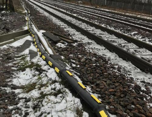 1200 meters Snap Hardlock™ to railway project in Norrköping, Sweden